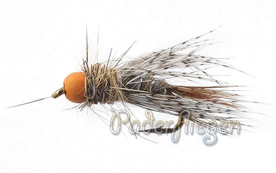 Patridge Orange Tungsten Grey