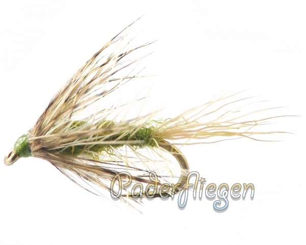 Caddis White Olive
