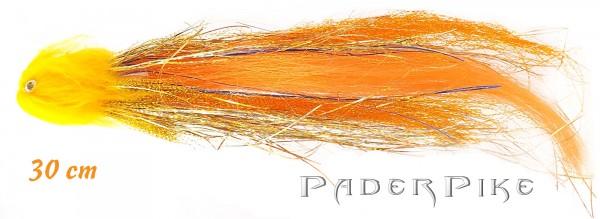 Paderpike Hecht Tube Orange 30cm