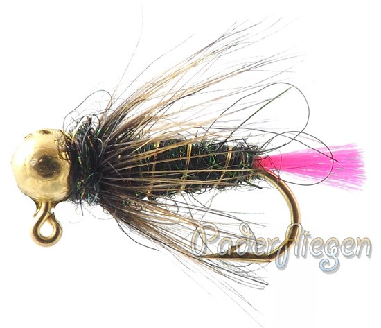 Tungsten Jig Pink Tail