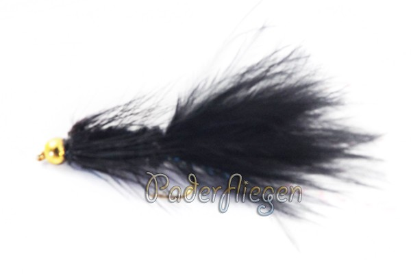 Woolly Bugger Black BH