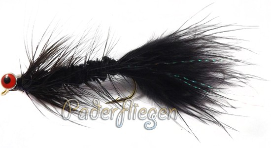 Woolly Bugger Black Deepwater