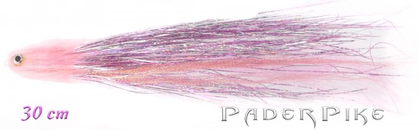 Paderpike Hecht Tube Pink 30cm