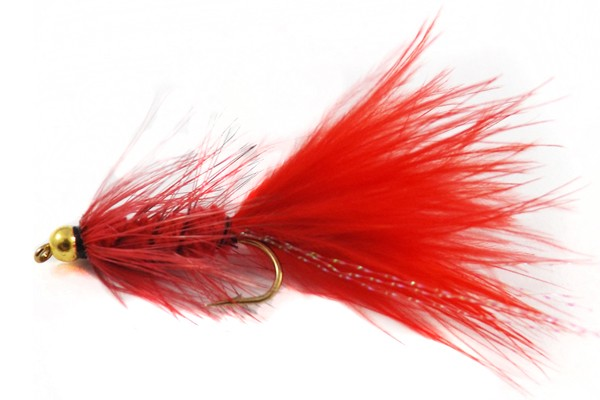 Woolly Bugger Red BH