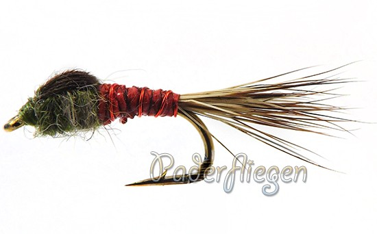 Hare Ribbed Red