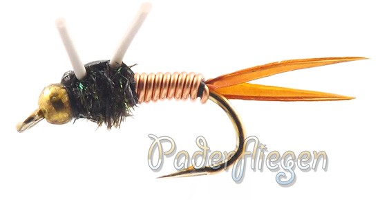 Brassie Copper John Rubberleg