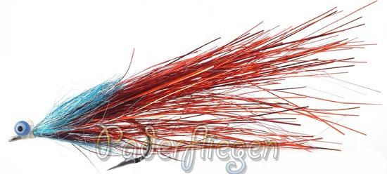 Paderpike Glitter Predator Deep Blue/Red