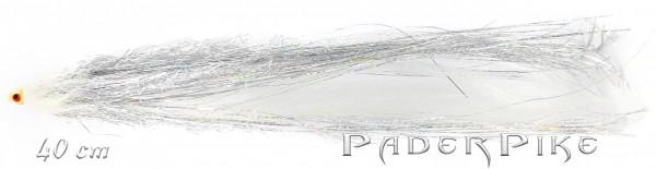 Paderpike Hecht Tube weiss 40cm