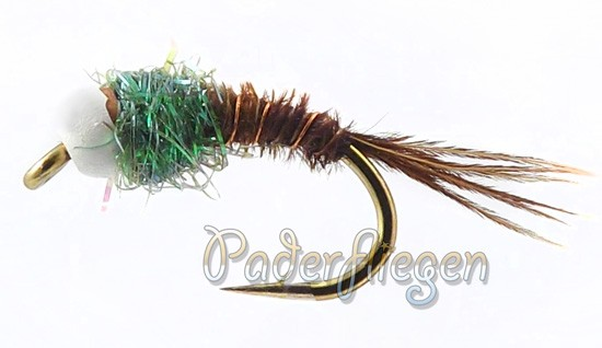Pheasant Tail Tungsten White Head