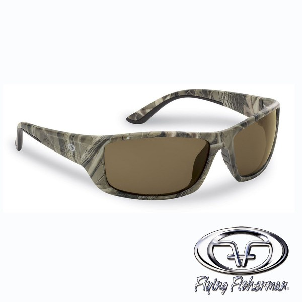Buchanan Polbrille Camo-Matt/Bernstein von Flying Fisherman