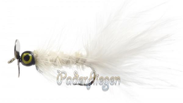 Propellerfliege Woolly White BH