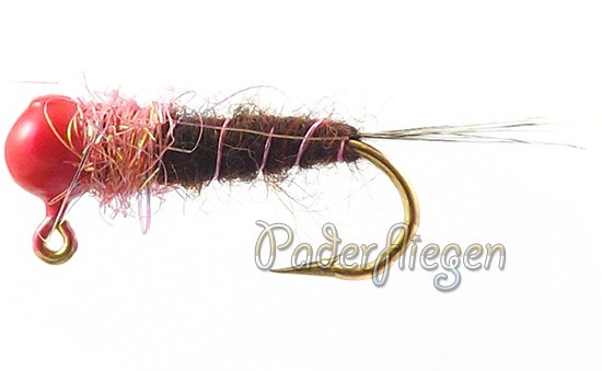 Tungsten-Jig-Pink-Head-Brown