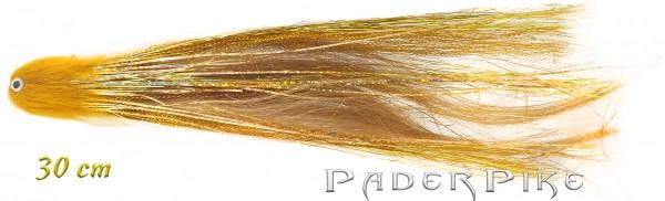 Paderpike Hecht Tube Gold/Braun 30cm