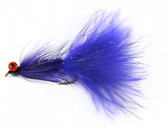Woolly Bugger Purple Deepwater
