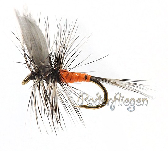 Dry Hackle Orange Female