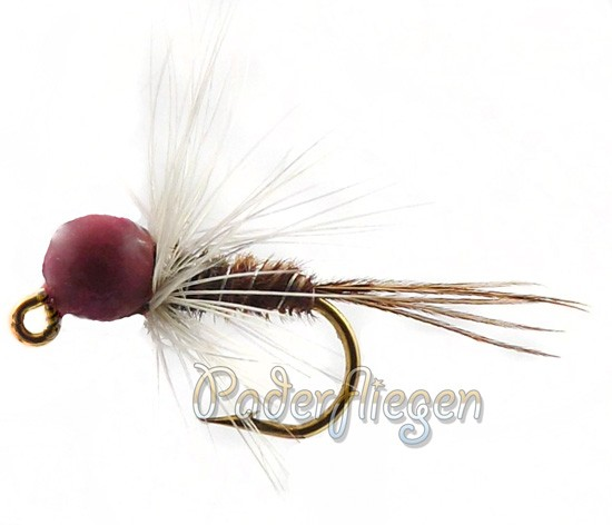 Tungsten Jig Red Head Pheasant Tail