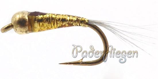 Perdigon Tungsten Gold Nymphe