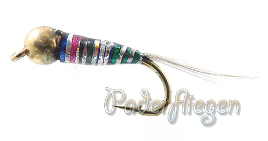 Perdigon Tungsten Rainbow