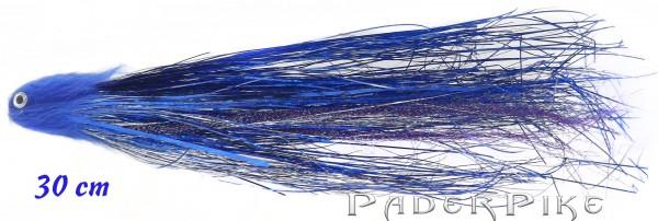 Paderpike Hecht Tube Blau 30cm